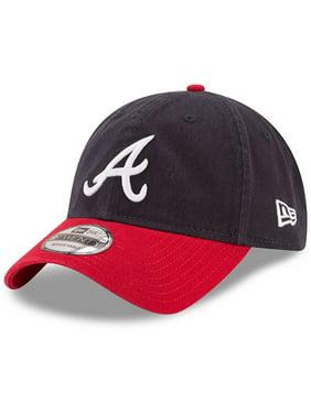 663b36e9278 Product Image Atlanta Braves New Era Home Replica Core Classic 9TWENTY  Adjustable Hat - Navy Red -