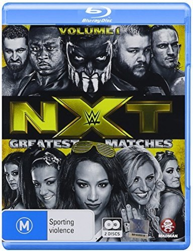 WWE: NXT's Greatest Matches Vol 1 (Blu-ray) by