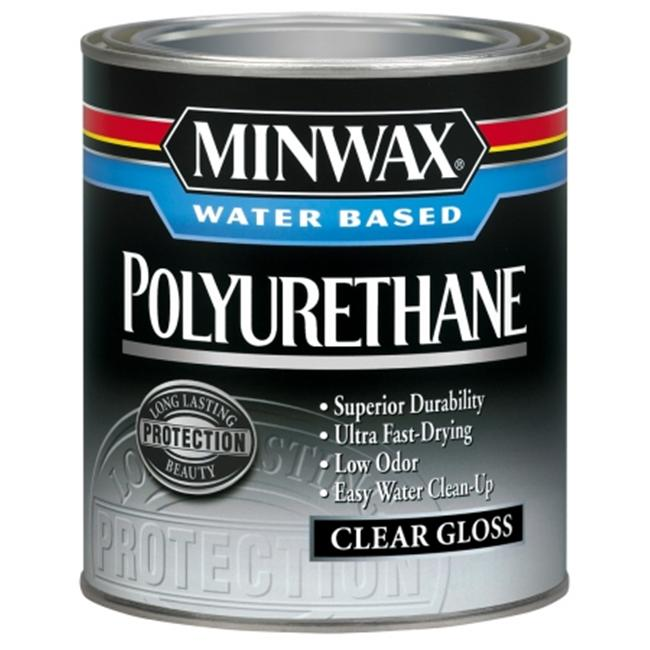 Minwax .50 Pint Gloss Minwax Water Based Polyurethane  23015
