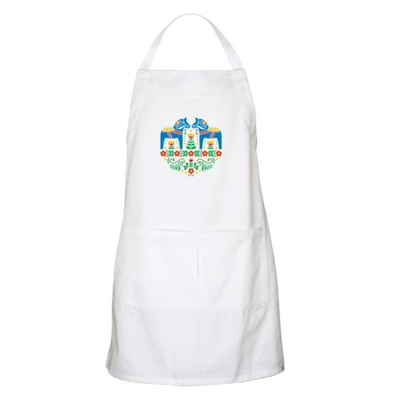 - CafePress - Swedish Dala Horse Apron - Kitchen Apron with Pockets, Grilling Apron, Baking Apron