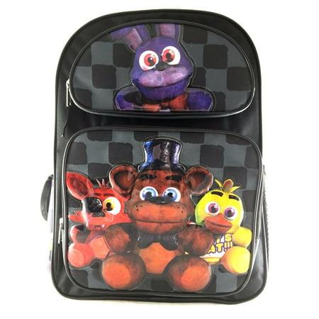 Bonny Five Nights at Freddys Large Backpack 16in Boys School Book Bag (Brooks Bag)