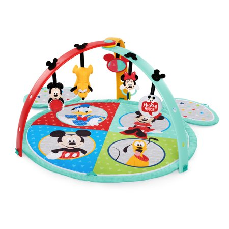 Disney Baby Mickey Mouse Easy Store Activity Gym and Play Mat