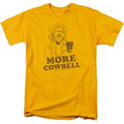 Saturday Night Live SNL Illustrated Cowbell Mens Short Sleeve Shirt