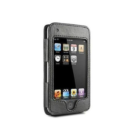 DLO HipCase with Leather Sleeve and Belt Clip for iPod Touch (Black)