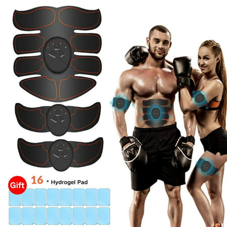 Abs Stimulator Ultimate Muscle Toner with 16 Extra...