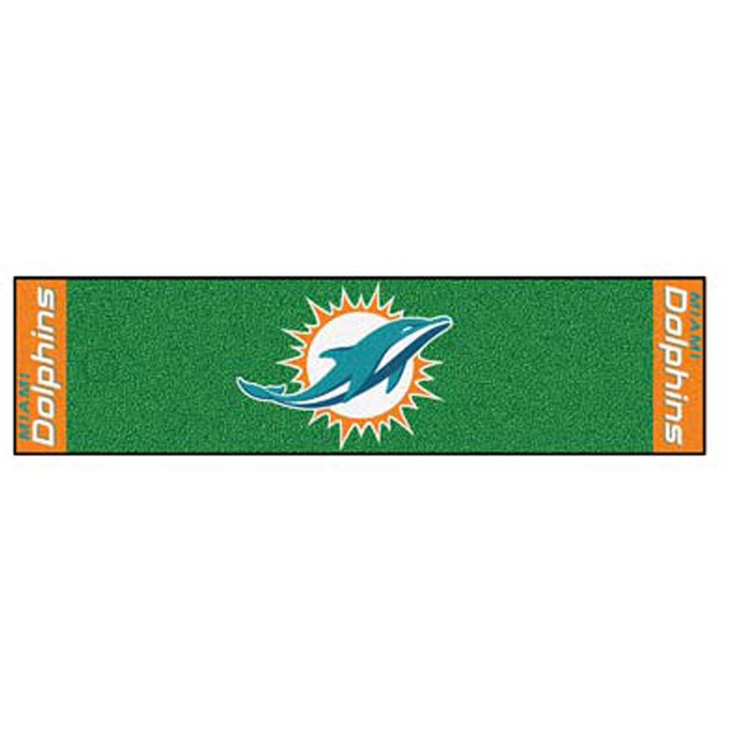 FanMats NFL Miami Dolphins Putting Green Mat
