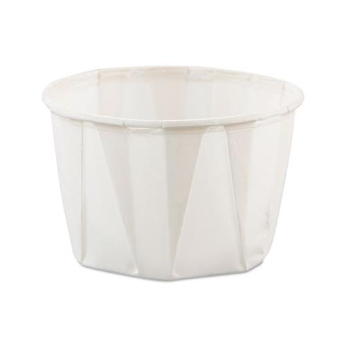 Solo 200 Pleated Paper Portion Cup, 2 Ounce SCC200