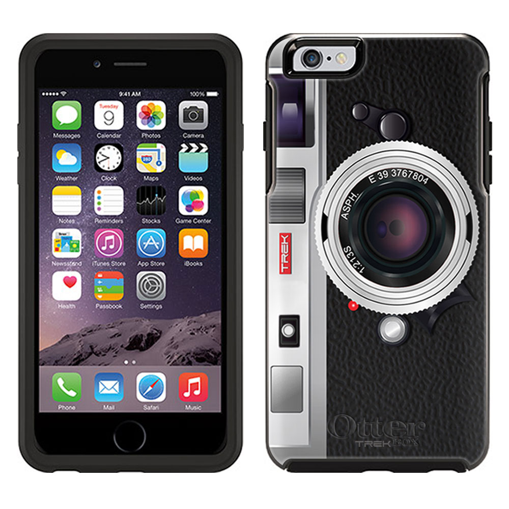 OtterBox Symmetry Apple iPhone 6 and iPhone 6S Case - Vintage Silver Camera OtterBox Case