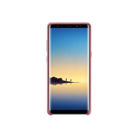 Samsung Galaxy Note8 Alcantara Cover, Pink