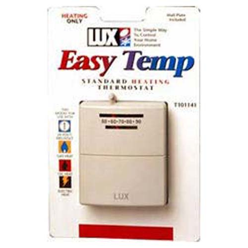 Lux Mercury Free Mechanical Heat Thermostat