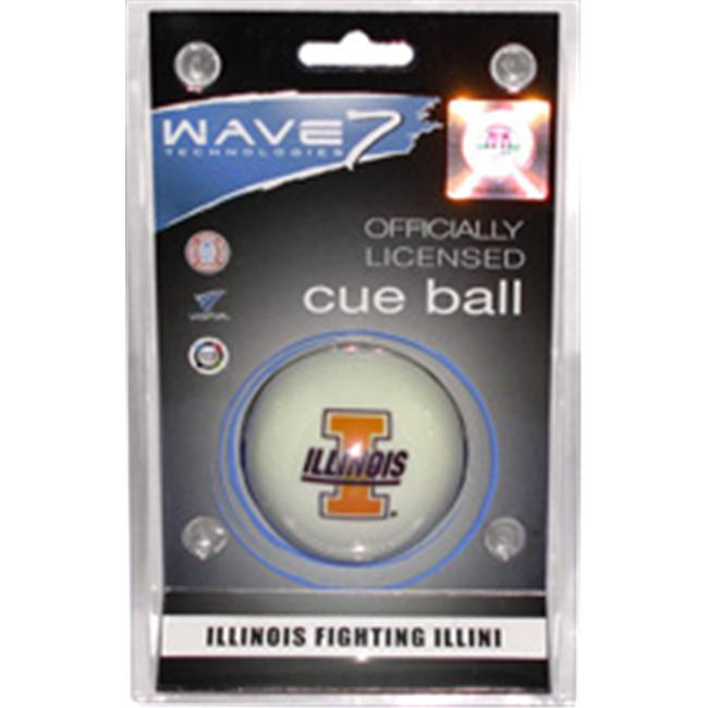 Wave 7 Technologies ILLBBC100 Illinois Cue Ball