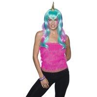 Womens Unicorn Fairy Halloween Wig