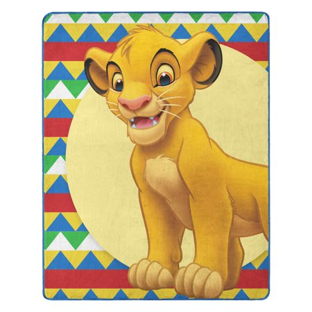 "The Lion King, ""High Up Simba"" Silk Touch Throw Blanket, 40""x 50"" ()"