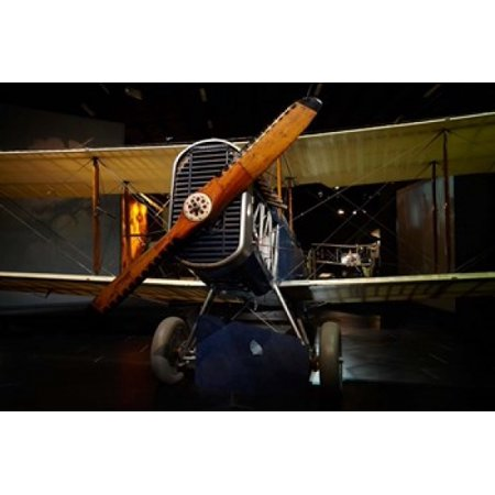 De Havilland DH4 biplane War plane New Zealand Canvas Art - David Wall  DanitaDelimont (29 x 19)