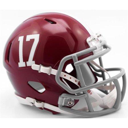 Alabama Crimson Tide Helmet Riddell Replica Mini Speed Style #17 Riddell Carolina Panthers Replica Helmet