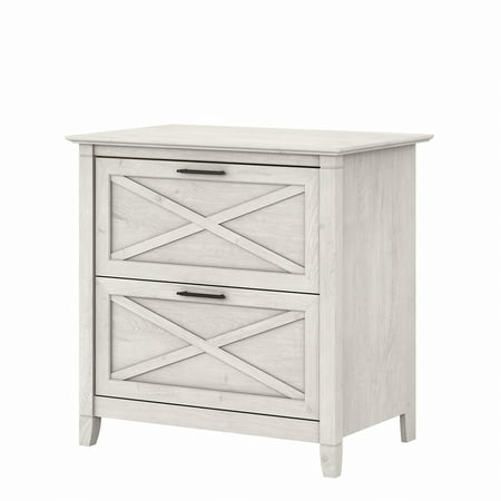 Key West 2 Drawer Lateral File Cabinet in Linen White Oak