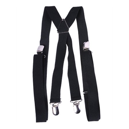Child's Gangster or Clown Costume Black Suspenders (Gangster Clown Makeup)
