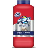 2 Pack - Resolve Pet Formula Carpet Cleaner Moist Powder 18 oz