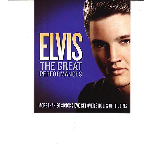Elvis The Great Performances (Walmart Exclusive) (Music DVD)