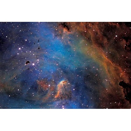 Galaxies Nebulae Stars Universe Poster 24X36 Outer Space Spectacular Image - Outer Space Classroom Decorations