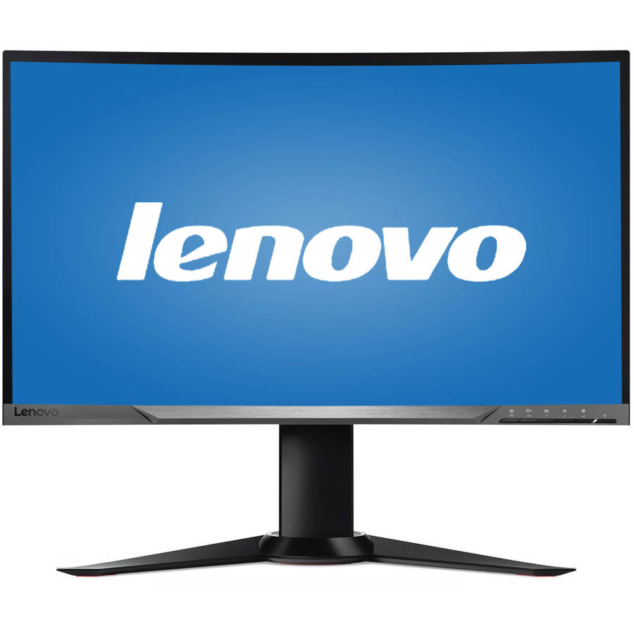"""Lenovo 27"""" LED Widescreen Curved Gaming Monitor (Y27f Black)"""