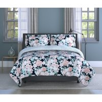 Inspired Surroundings, (3) Piece Full/Queen Comforter Set - English Garden Floral