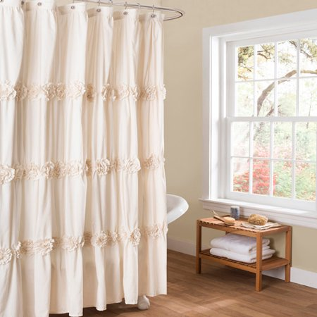Darla Ivory Shower Curtain