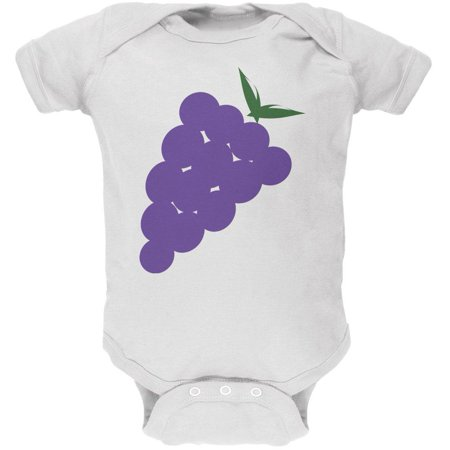 Halloween Purple Grape Costume Soft Baby One Piece - Grape Costumes