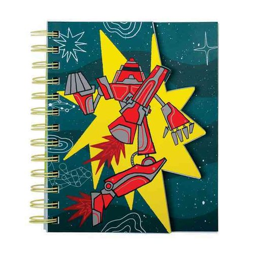Robot Power Layered Journal
