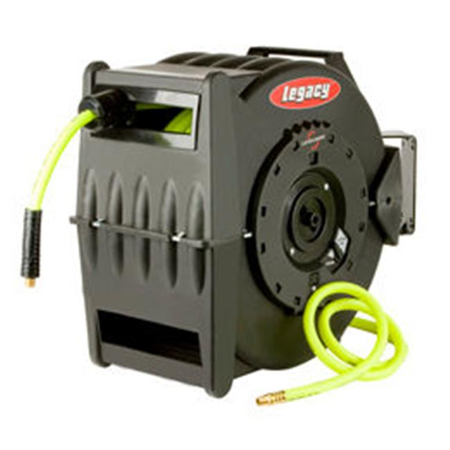 Legacy Manufacturing Co MTL8306FZ Levelwind Retractable Hose Reel .38 in.ID x 75 ft. Flexzilla Hose
