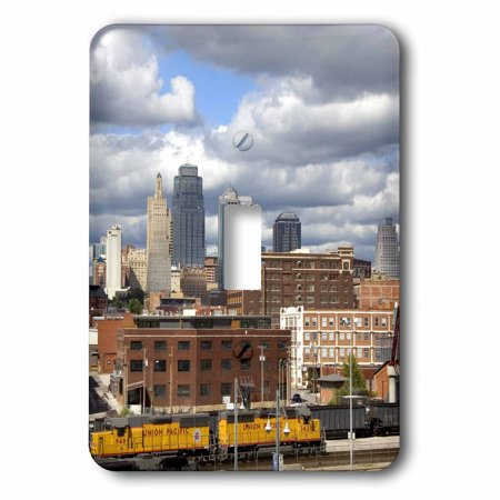 3dRose Union Station at Kansas City, Missouri - US26 DFR0134 - David R. Frazier, 2 Plug Outlet Cover