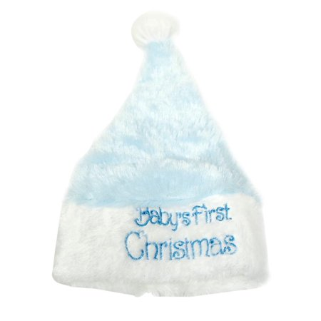 Baby Boy First Christmas Santa Hat