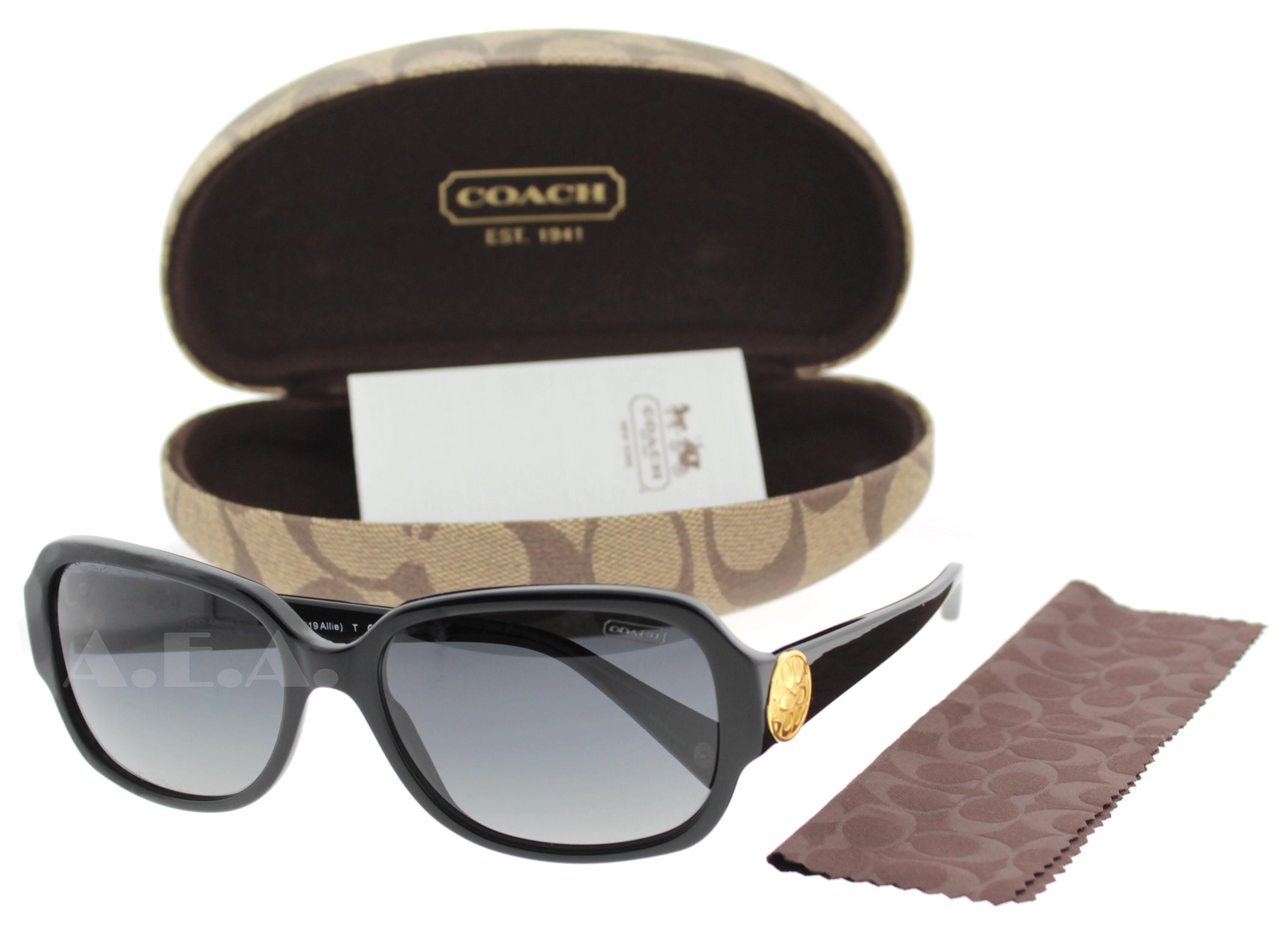 3073f68bceb0 Coach - Coach HC8015 L019 Allie 5002/T3 Polarized Black/Gold Women's  Sunglasses - Walmart.com