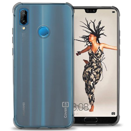 CoverON Huawei P20 Lite Case, FlexGuard Series Soft Flexible Slim Fit TPU Phone Cover