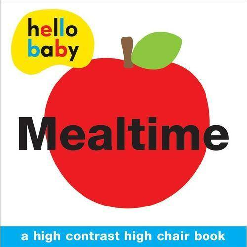 Mealtime: A High Contrast High Chair Book