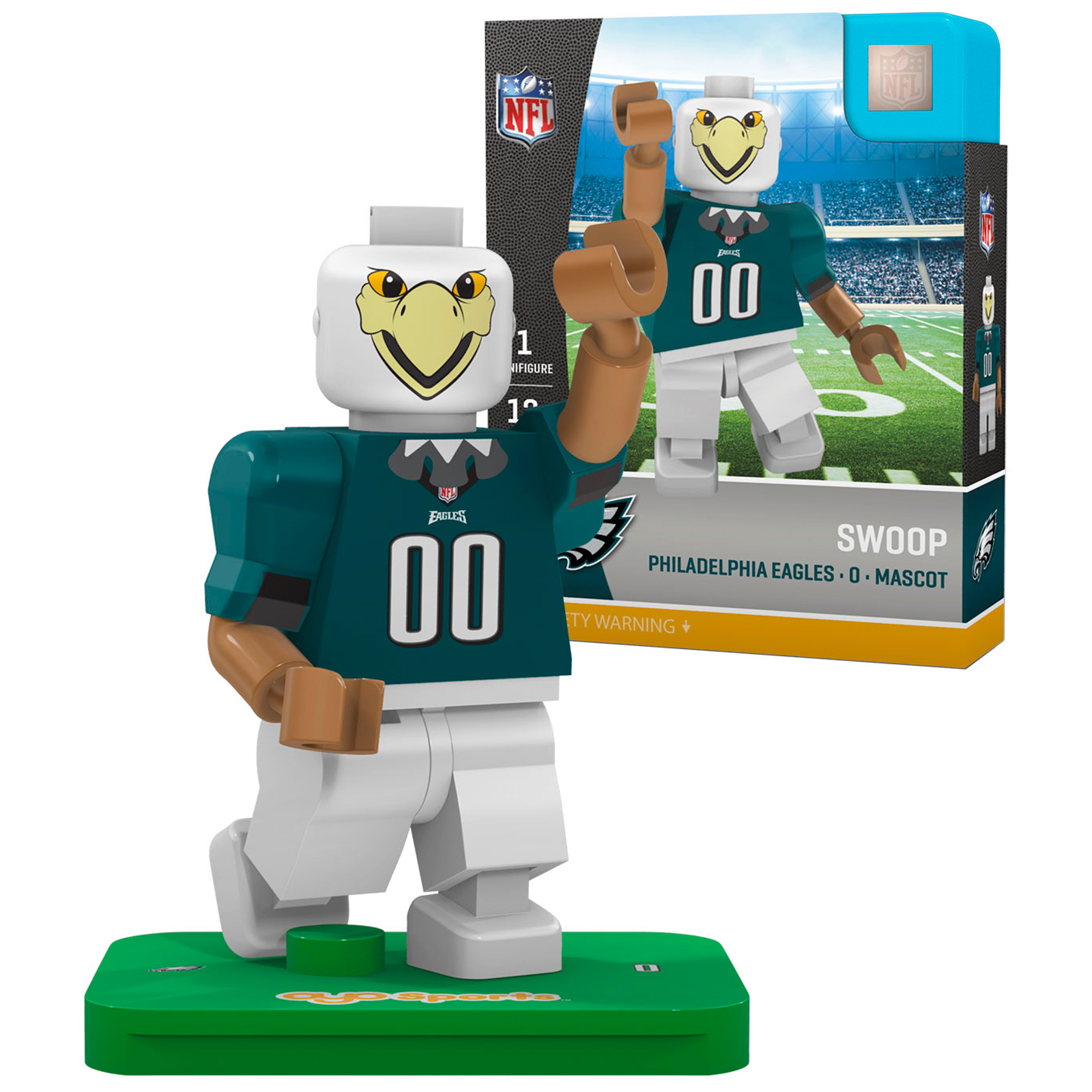 Swoop Philadelphia Eagles Oyo Sports Generation 5 Mascot Minifigure