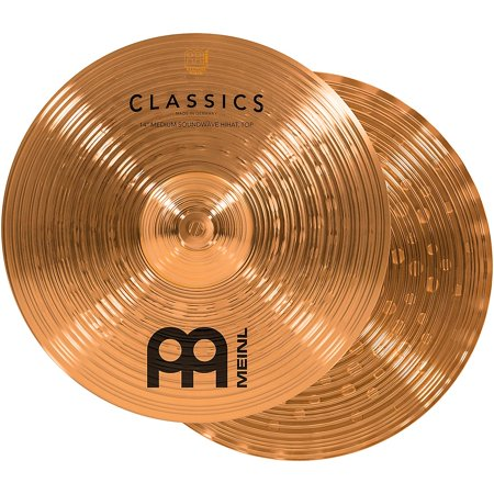 "Meinl Cymbals 14"" Classics Medium Soundwave Hi Hats"
