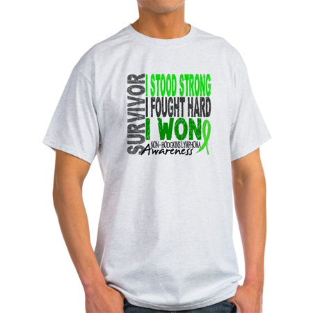 Lymphoma T-shirts (CafePress - Survivor 4 Non-Hodgkin's Lymphoma Shirts And Gifts - Light T-Shirt -)