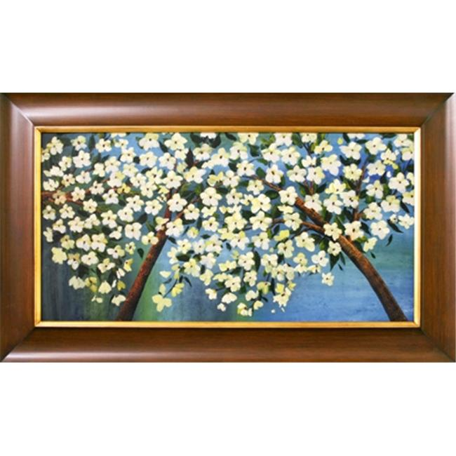 Artmasters Collection Cherry Blossom Framed Oil Painting