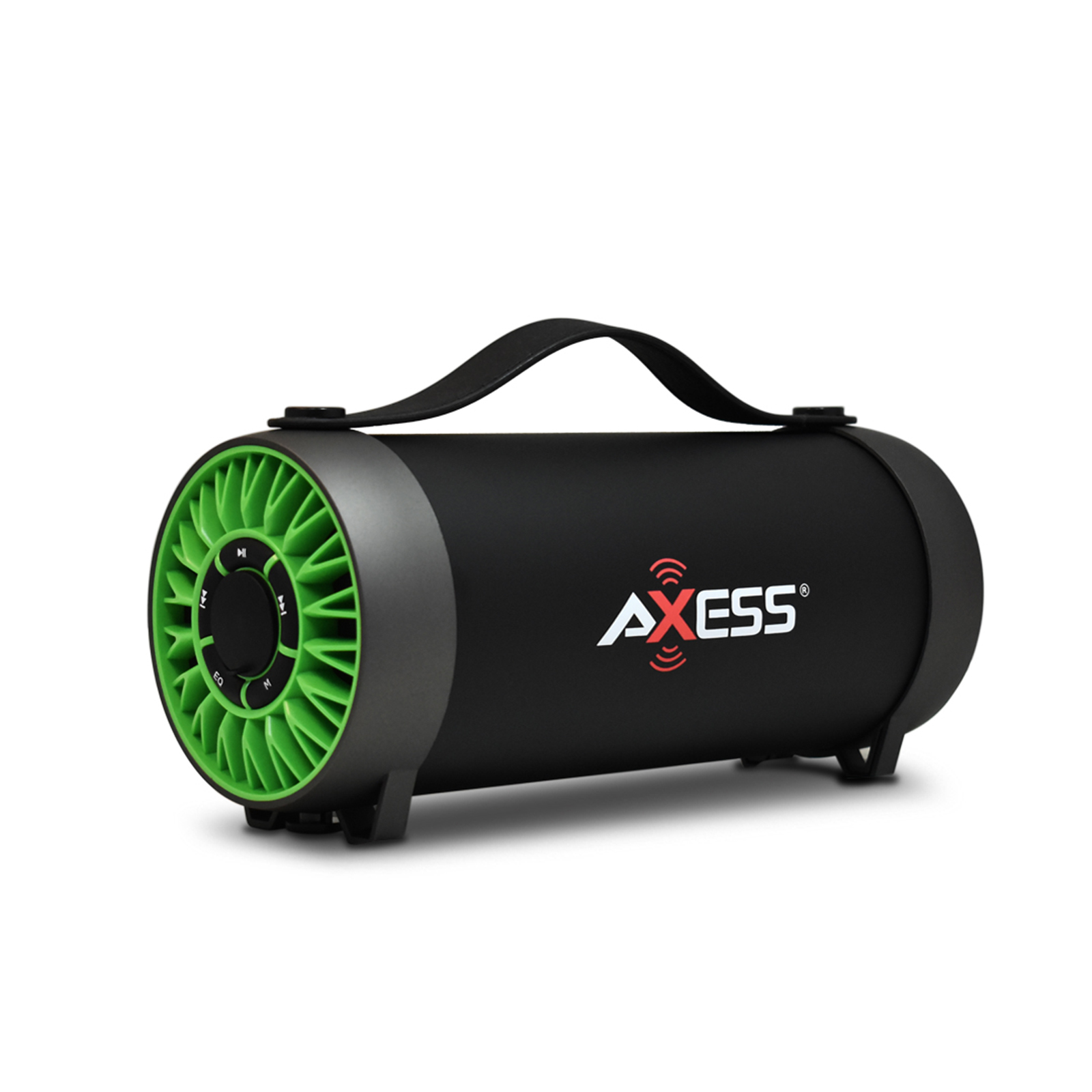 Axess BT Media Speaker with Equalizer in Green