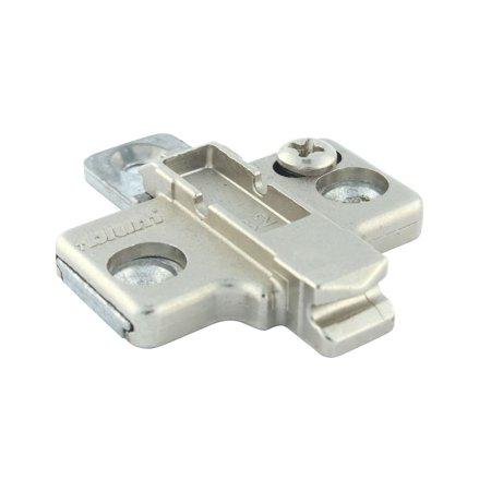 Hardware Metal Plate - Blum Rok Hardware Silvertone Metal Die-cast Mounting Plate (10 Pack)