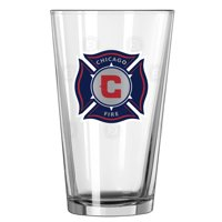 Chicago Fire 16oz. Satin Etch Pint Glass - No Size