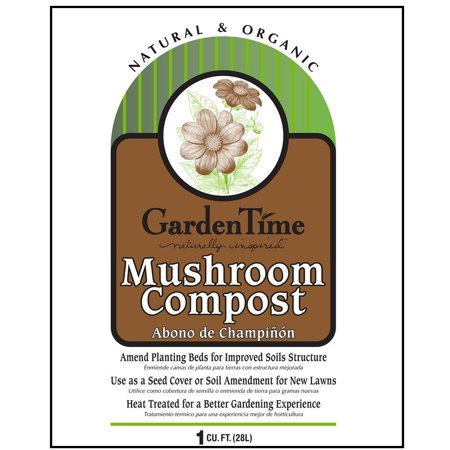 Garden Time GT-13040 Mushroom Compost, 1 Cu.ft.