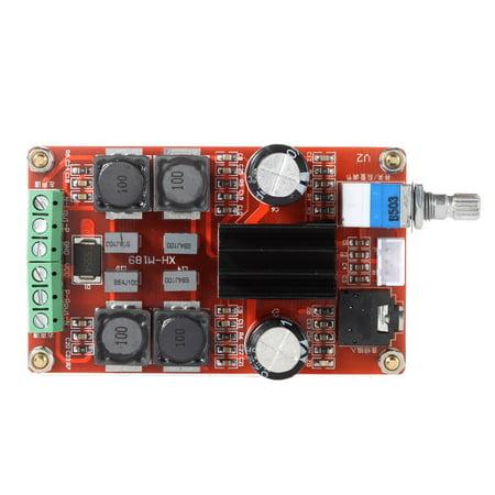 TPA3116D2 2*50W Digital Power Amplifier Board Class D DC12V 24V Dual Channel Audio Stereo AMP - image 1 de 1