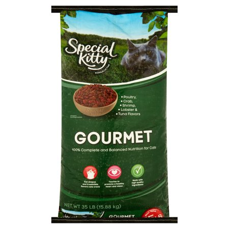 Home Gourmet Food - Special Kitty Gourmet Formula Dry Cat Food, 35 lb