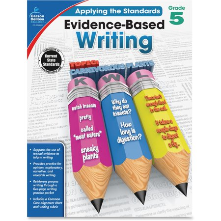 Carson-Dellosa, CDP104828, Grade 5 Evidence-Based Writing Workbook, 1 Each (Third Grade Halloween Arts And Crafts)