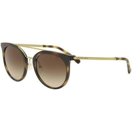 Michael Kors Ila MK2056 MK/2056 327013 Dark Tortoise/Gold Sunglasses 50mm ()