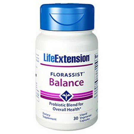 FlorAssist - Probiotique liquide Capsules Life Extension 30 Caps