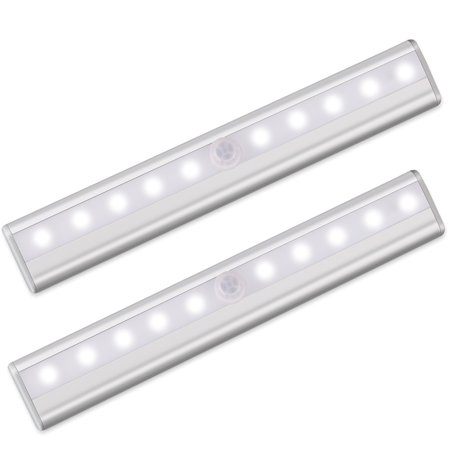 Automatic Closet Removable Wireless Cabinet Light Motion Magnetic Sensor Battery Powered Wardrobe For Home Lamp Led Drawer Lights & Lighting