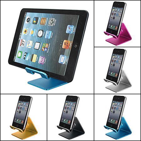 Gold Color Universal Aluminum Alloy Stand Holder For Iphone 5 5S